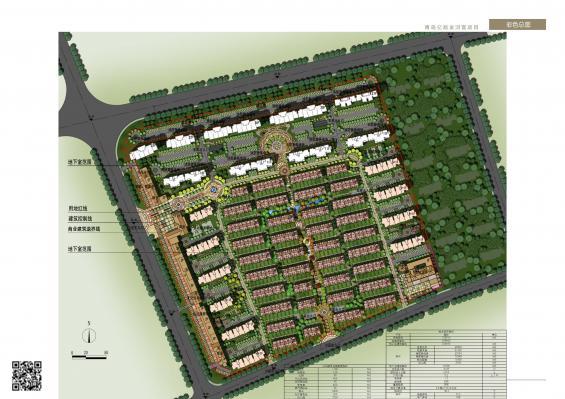 河套学院新校区平面图