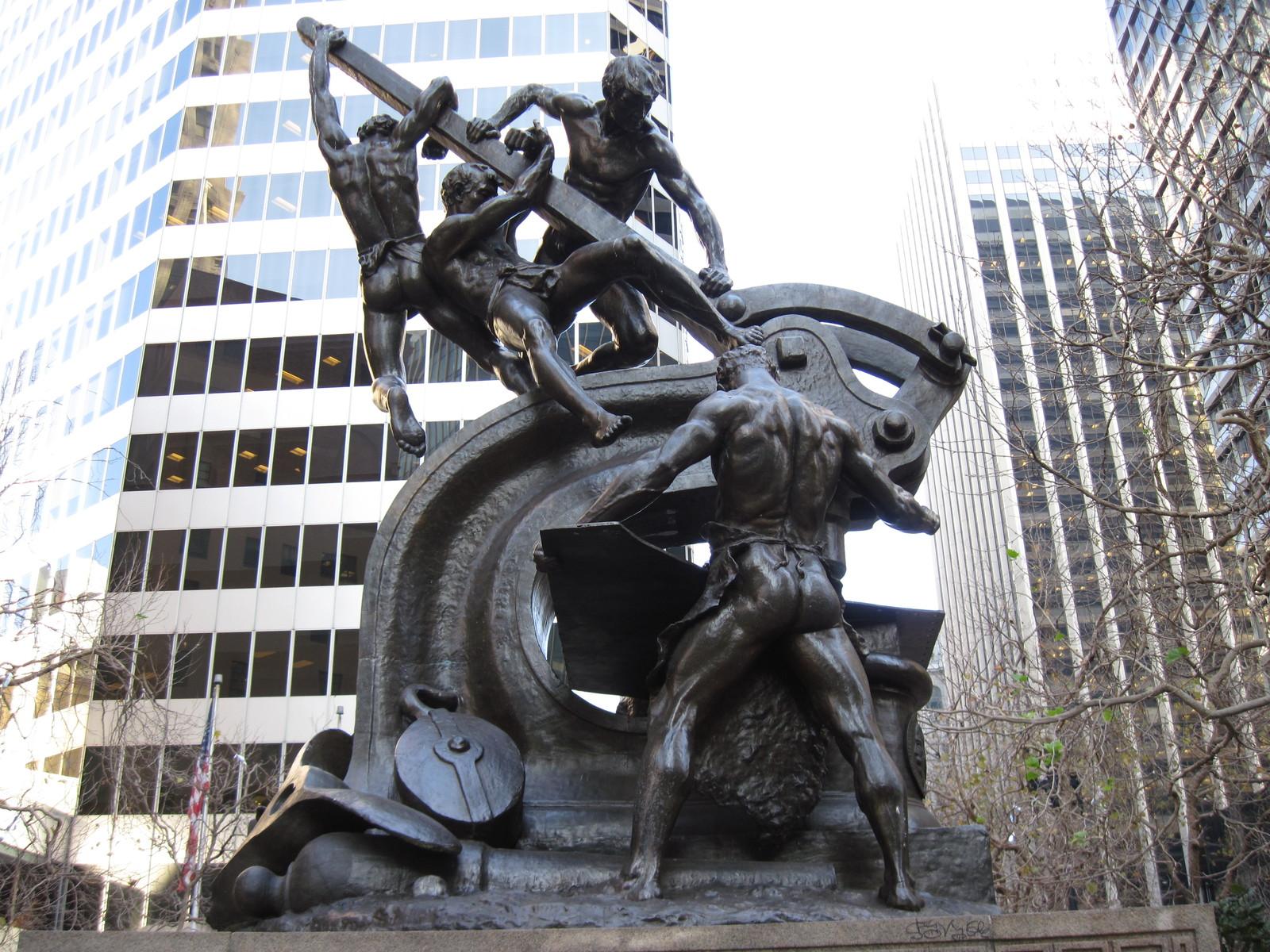 旧金山的雕塑设计