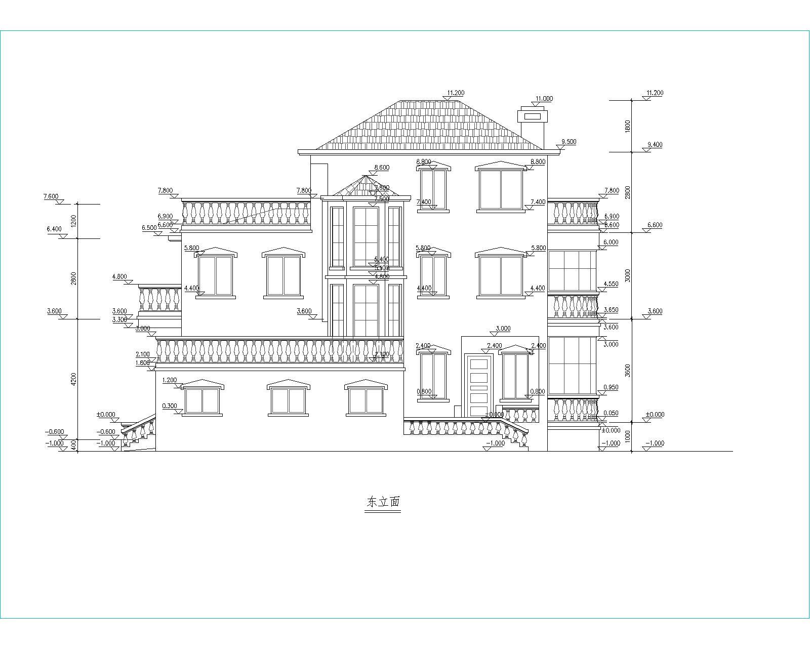 新型钢结构别墅设计图展示
