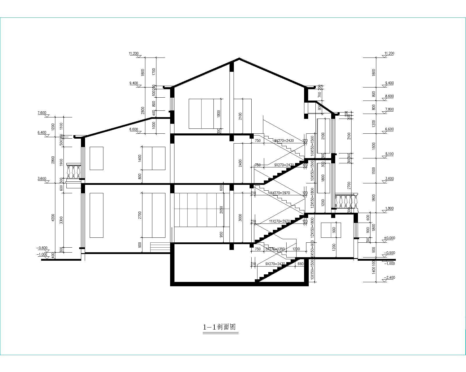 80平米小别墅设计图展示