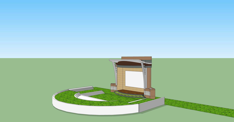 露天剧场舞台设计