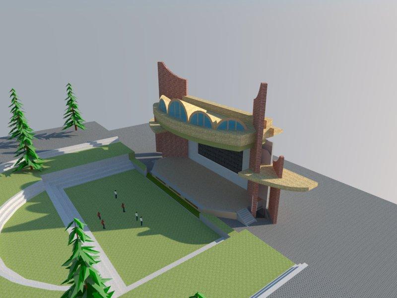 露天剧场舞台方案设计