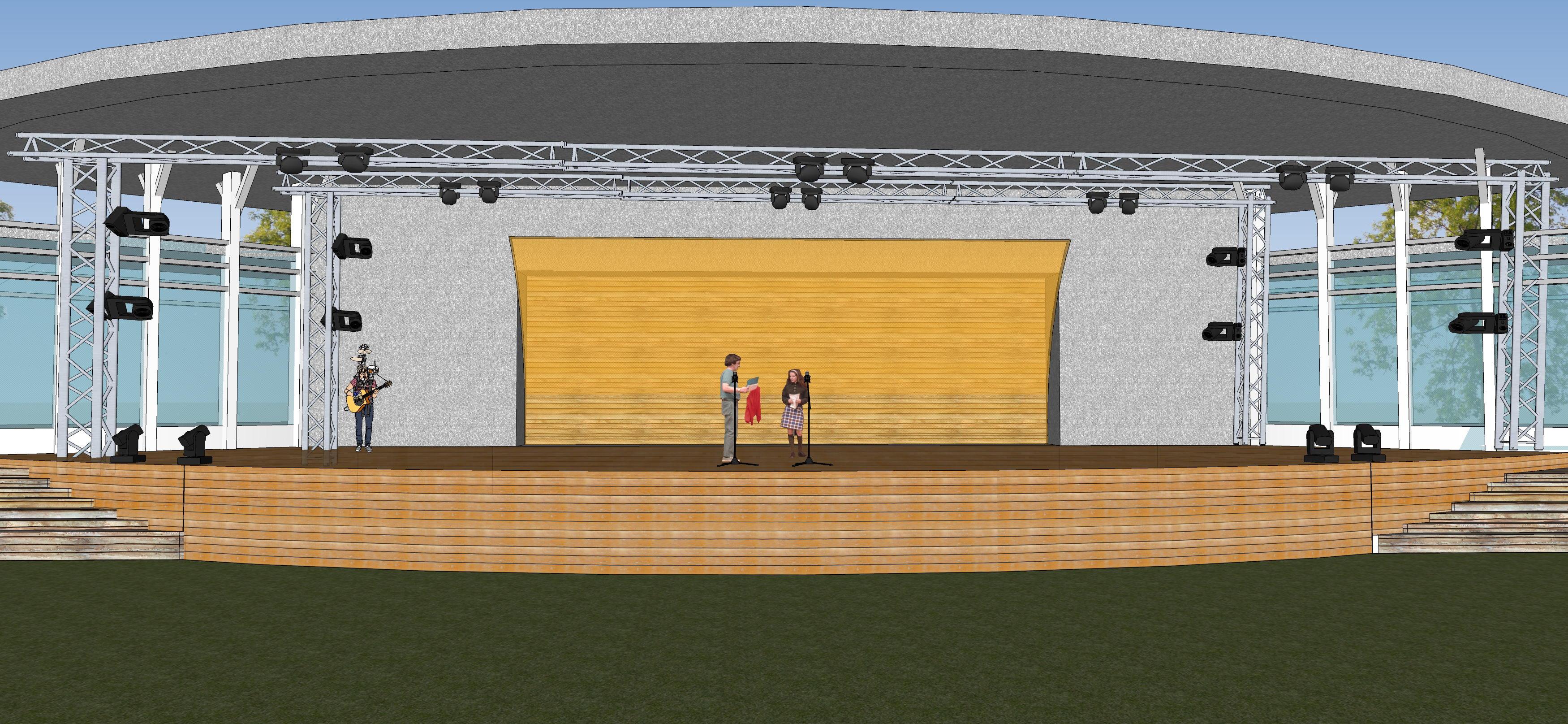 露天剧场舞台设计(参与者都有奖金!