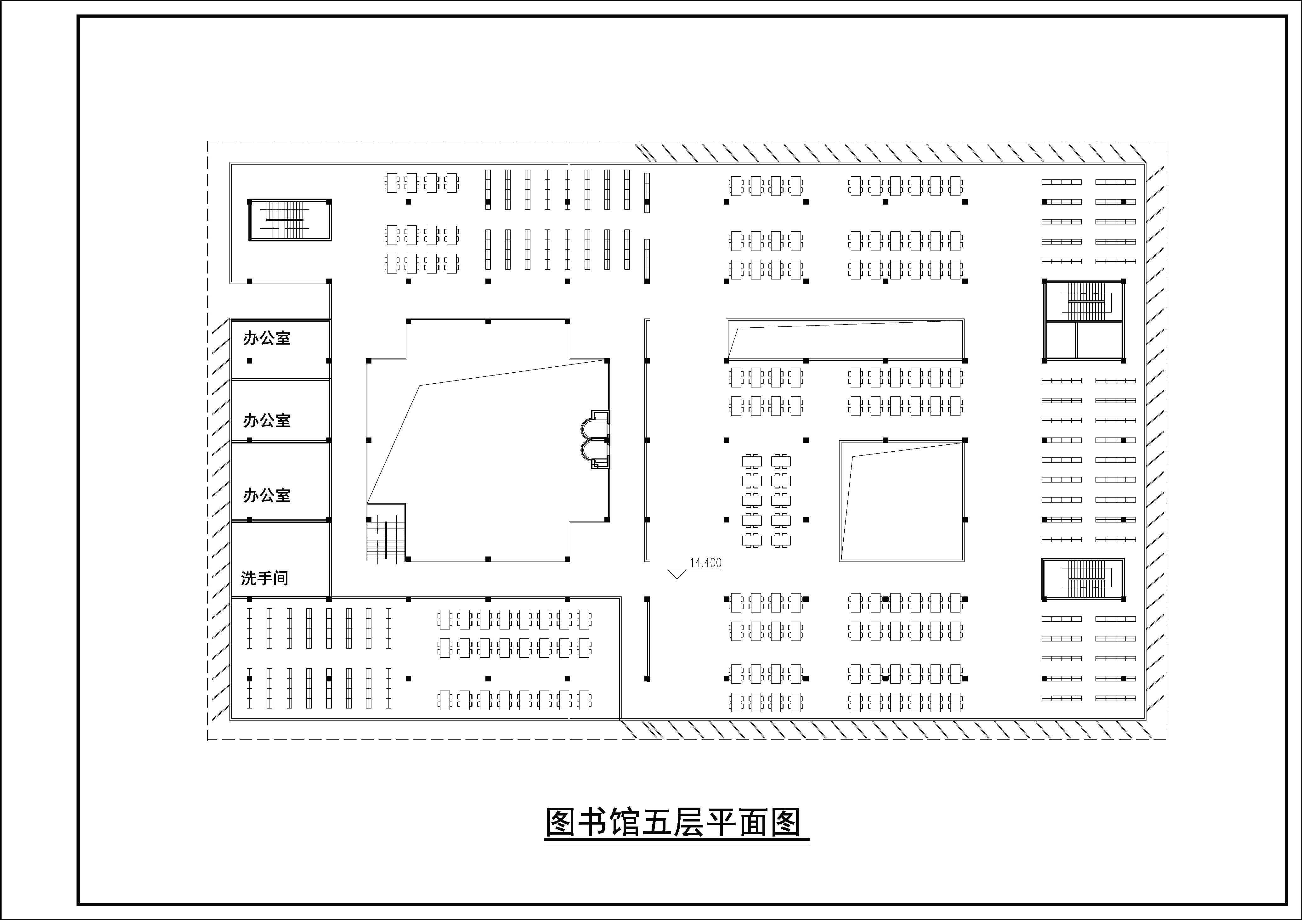 中学小型图书馆初步方案设计