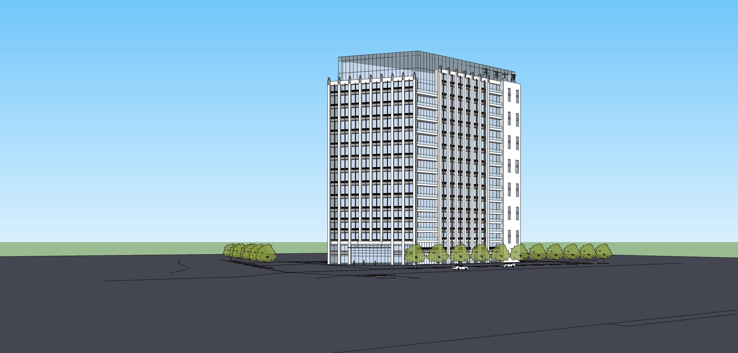 新中式风格高层建筑设计