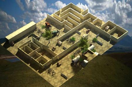 跌水景观池(墙)设计