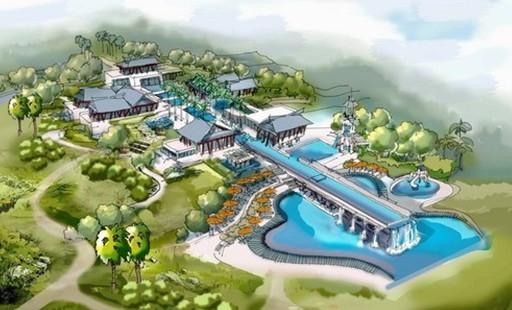 位于海南三亚国际机场以东约70公里的香水湾大片土地,包括基地南侧700米长未经开发的原始海滩。业主选择中心区域三万多平方米的场地作为首先开发的地块,并决定建造一个拥有百余间客房的别墅式度假酒店,一个同时容纳了三个餐厅、一个酒吧、水疗中心、小型会议中心和健身中心,以及一个独一无二的双层室外游泳池,共计约60,000平方米的酒店综合体。    对于绝大多数海滨度假胜地而言,其主要魅力就在大海本身。人们在雪白的沙滩上享受日光浴,眼前是一望无际碧蓝的海水,这景象在建筑师脑海中唤起一种全身心放松、幸福愉悦的梦