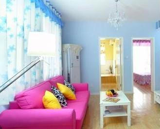 室内设计色彩的搭配法则有三种:     对比风格.