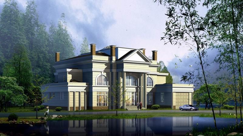 别墅 平面图 800_450